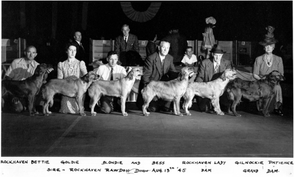 Rockhaven Kennels Breeder`s Group circa 1946/47